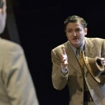 Michael Grady-Hall playing Frank in Oppenheimer