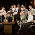 Michael Grady-Hall and the company of Antigone by Johan Persson