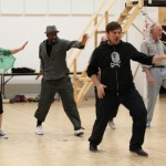 Michael Grady-Hall and The Mechanicals rehearse by Ellie Kurtz