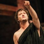 Michael Grady-Hall as Cato in Imperium Part I. photo by Ikin Yum
