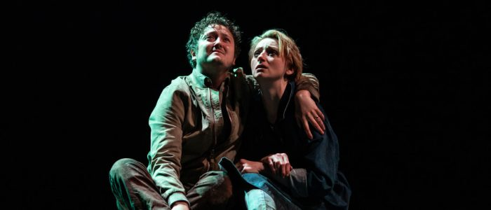 Michael Grady-Hall and Jodie McNee in Venice Preserved photo by Helen Maybanks